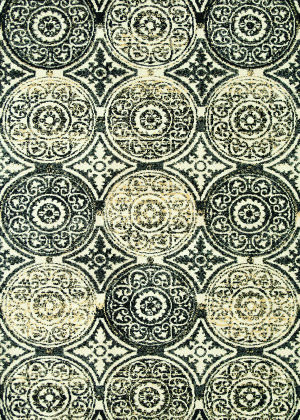 Loloi Avanti Av-07 Black / Gold Area Rug