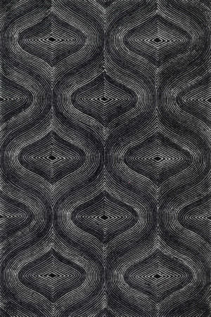 Loloi Boca Bh-04 Black - Grey Area Rug
