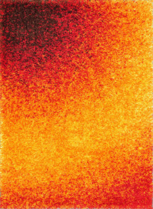 Loloi Barcelona Shag BS-01 Sunset Area Rug