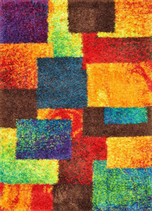 Loloi Barcelona Shag BS-05 Multi Area Rug