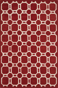 Loloi Brighton Bt-12 Red Area Rug
