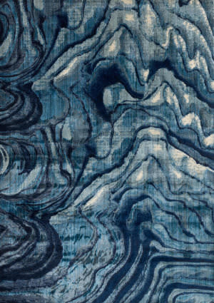 Loloi Dreamscape Dm-13 Indigo - Blue Area Rug