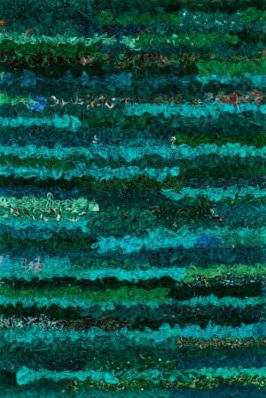 Loloi Eliza Shag Ei-01 Emerald Area Rug