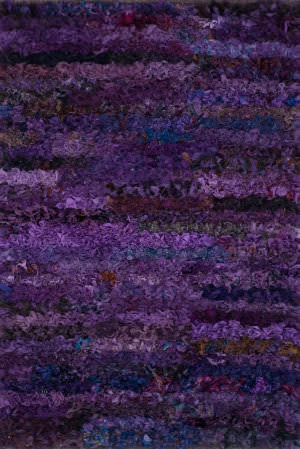 Loloi Eliza Shag Ei-01 Grape Area Rug