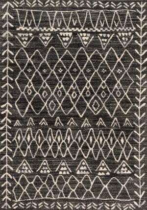 Loloi Emory Eb-09 Black - Ivory Area Rug