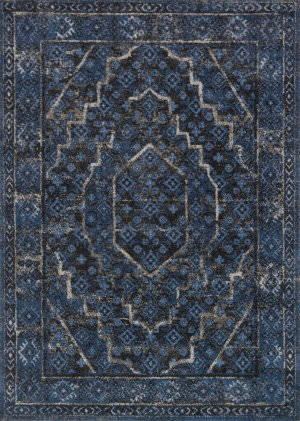 Loloi Emory Eb-15 Denim - Grey Area Rug