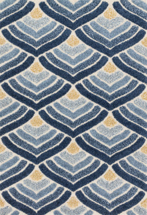 Loloi Enchant En-18 Ivory - Blue Area Rug