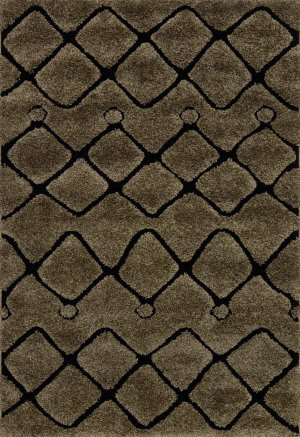 Loloi Enchant En-25 Smoke - Black Area Rug