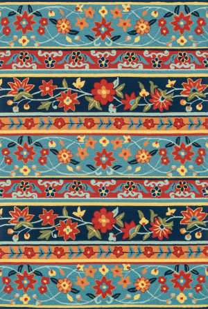 Loloi Francesca Fc-23 Blue / Multi Area Rug