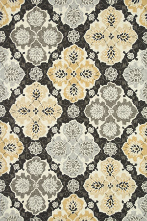 Loloi Francesca Fc-25 Charcoal / Multi Area Rug