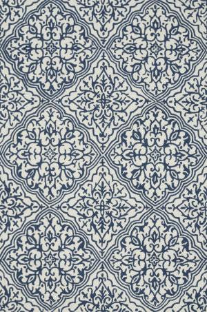 Loloi Francesca Fc-36 Ivory / Blue Area Rug