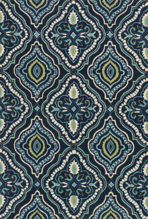 Teal And Navy At Rug Studio