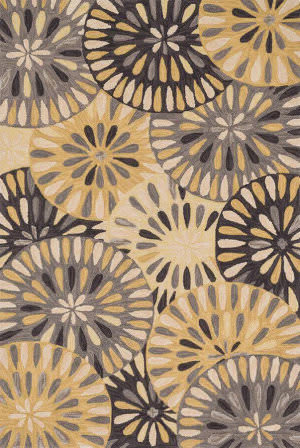 Loloi Gabriella GB-07 Grey / Gold Area Rug