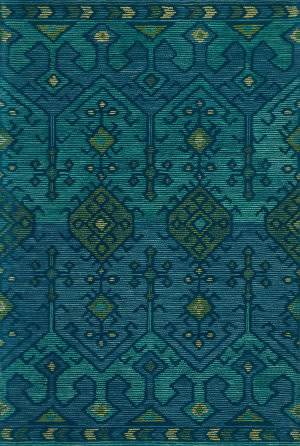 Loloi Gemology Gq-02 Green - Teal Area Rug