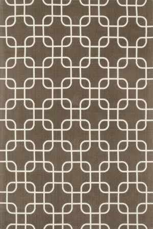 Loloi Geo GE-01 Brown / Ivory Area Rug