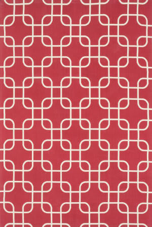 Loloi Geo GE-01 Red / Ivory Area Rug