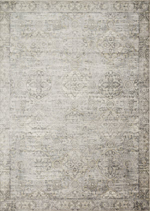 Loloi Griffin Gf-06 Grey - Gold Area Rug