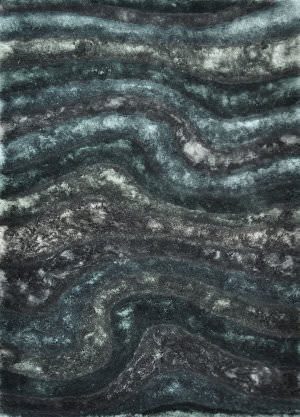 Loloi Glamour Shag Gs-05 Midnight Area Rug