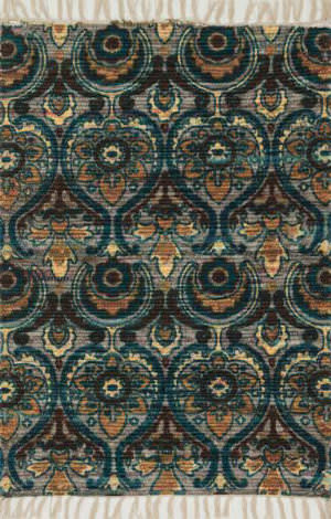 Loloi Aria AR-01 Grey / Blue Area Rug