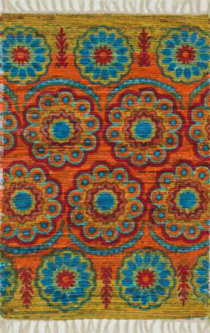 Loloi Aria AR-11 Orange / Multi Area Rug
