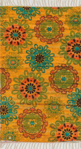 Loloi Aria AR-15 Yellow / Orange Area Rug