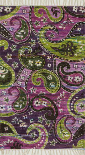 Loloi Aria AR-23 Purple / Multi Area Rug