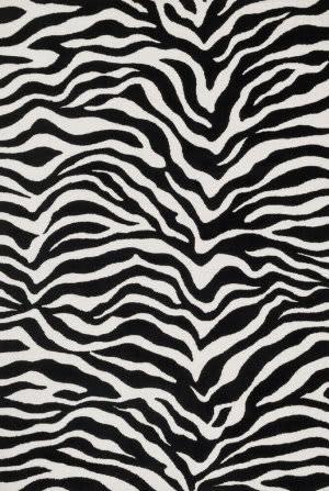 Loloi Cassidy CD-03 Ivory / Black Area Rug