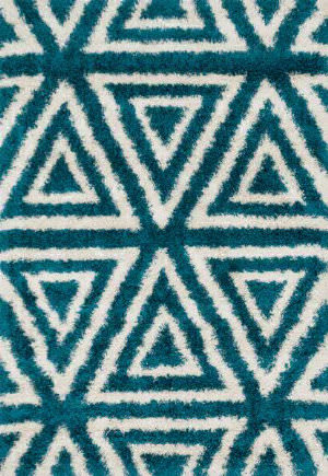 Loloi Cosma CO-02 Blue / Ivory Area Rug