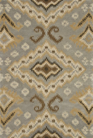 Loloi Fairfield Fairhff14 Slate / Gold Area Rug