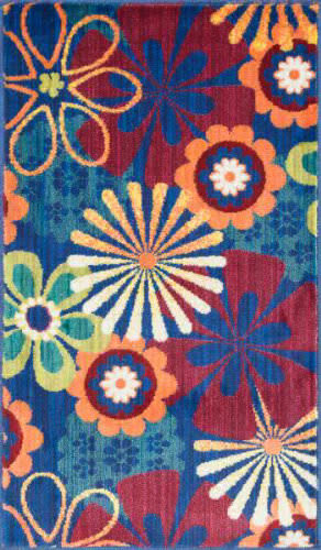 Loloi Isabelle IS-01 Blue / Multi Area Rug