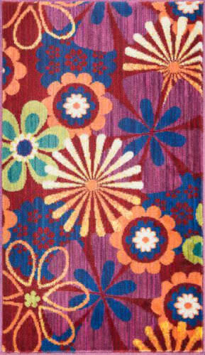 Loloi Isabelle IS-01 Red / Multi Area Rug