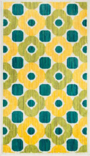 Loloi Isabelle IS-02 Green / Multi Area Rug