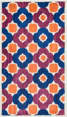 Loloi Isabelle IS-02 Pink / Multi Area Rug