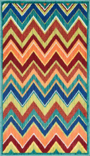 Loloi Isabelle IS-07 Teal / Multi Area Rug