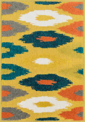Loloi Terrace TC-03 Citron / Multi Area Rug
