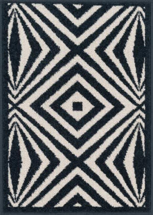 Loloi Terrace TC-04 Ivory / Navy Area Rug