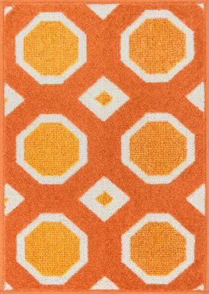 Loloi Terrace TC-07 Orange / Ivory Area Rug
