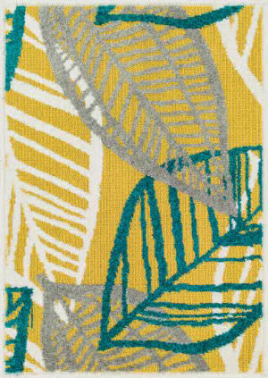 Loloi Terrace TC-17 Citron / Multi Area Rug