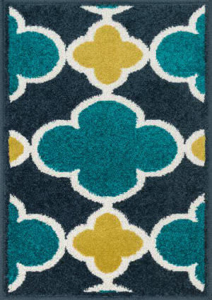 Loloi Terrace TC-19 Navy / Teal Area Rug
