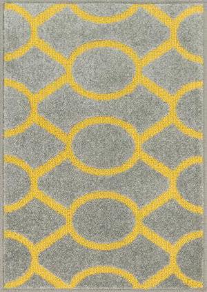 Loloi Terrace TC-20 Grey / Citron Area Rug