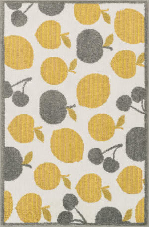 Loloi Tilley TI-08 Ivory / Yellow Area Rug