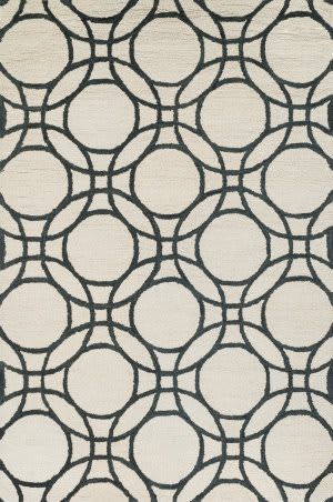 Loloi Taylor Hty08 Ivory / Black Area Rug