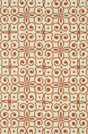 Loloi Ventura Hvt07 Ivory / Spice Area Rug