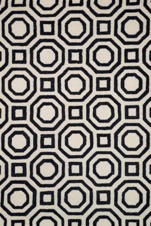 Loloi Weston Hws07 Ivory / Black Area Rug