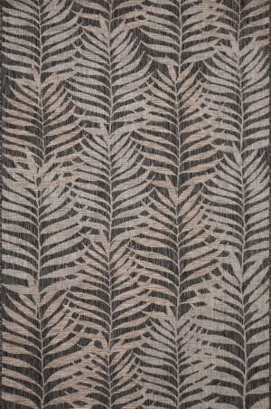 Loloi Isle Ie-08 Natural - Black Area Rug