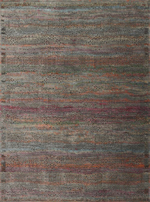 Loloi Javari Jv-02 Charcoal - Sunset Area Rug