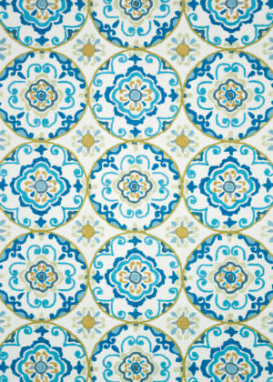 Loloi Juliana Jl-30 Ivory / Blue Area Rug