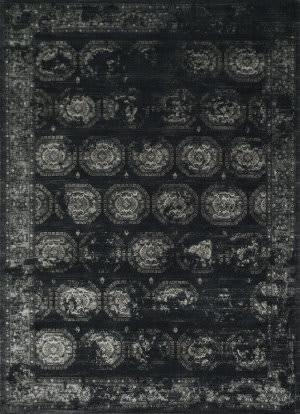 Loloi Journey JO-08 Black / Charcoal Area Rug