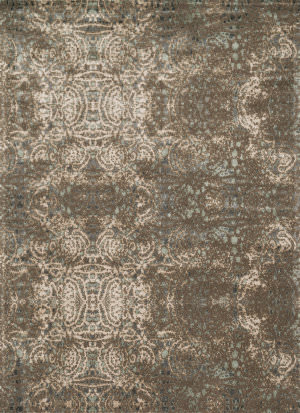 Loloi Journey Jo-05 Dark Taupe / Multi Area Rug
