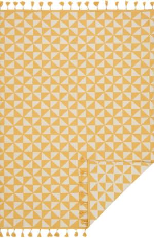 Loloi Kahelo Kh-03 Yellow - Ivory Area Rug